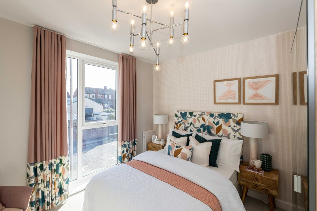 Bedroom in shared ownership apartments for sale in New Brighton, Wirral