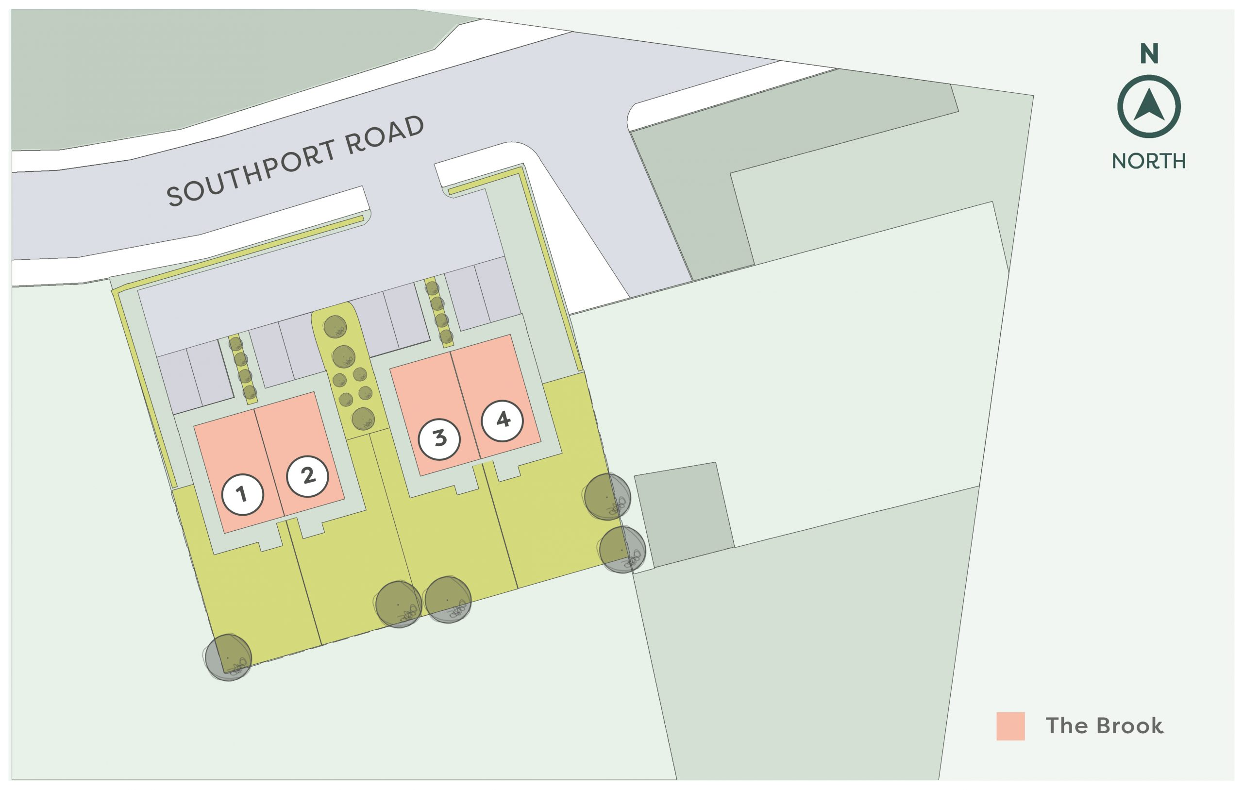 Development siteplan - Contact Onward for an accessible alternative