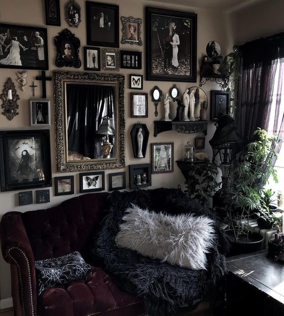 Top 5 Gothic Halloween Inspired Interiors Onward Living