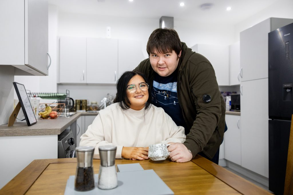 Shared Ownership case study - Adam & Molly, New Brighton, Wirral