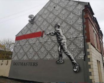 Victoria Quarter mural, New Brighton