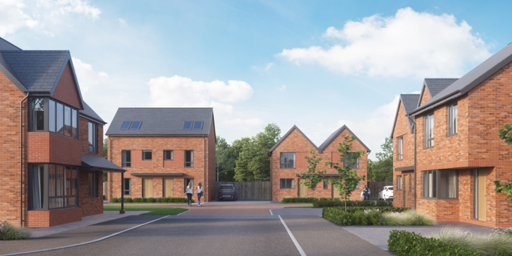 Homes for shared ownership at Sycamore Gardens, Ellesmere Port