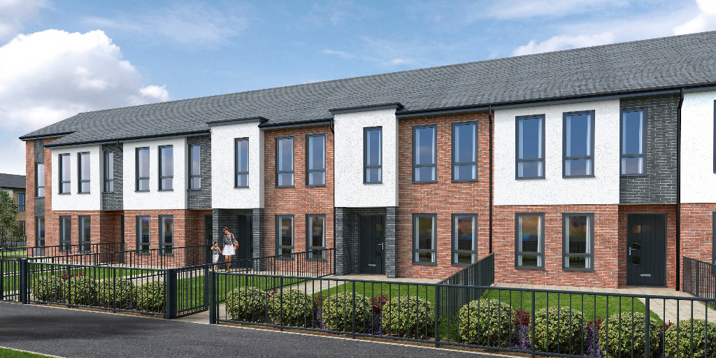 Elizabethan Terrace shared ownership homes for sale in Whitefield