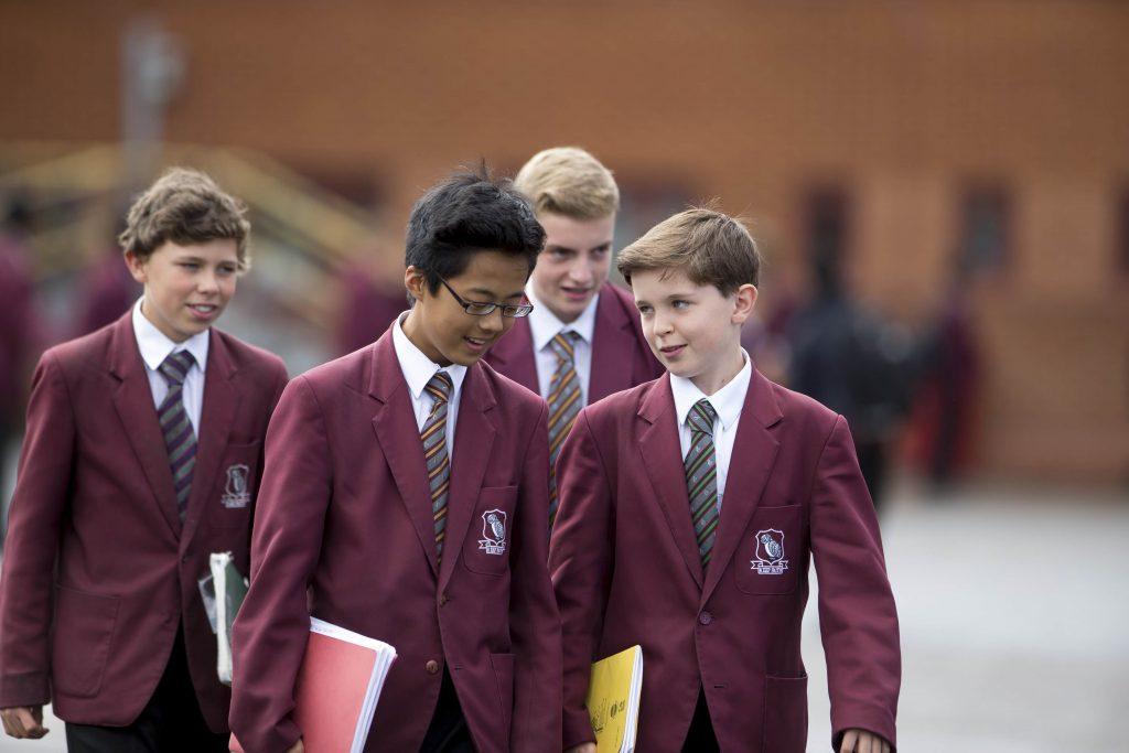 School pupils, Prenton