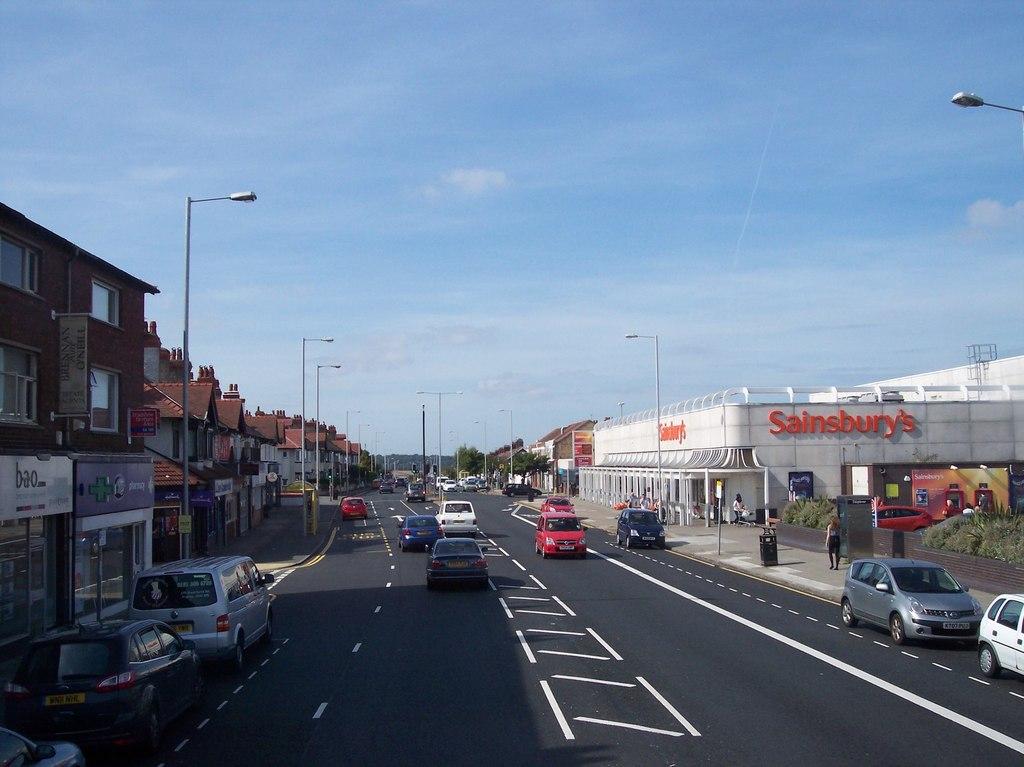 Woodchurch Road in Prenton, Wirral