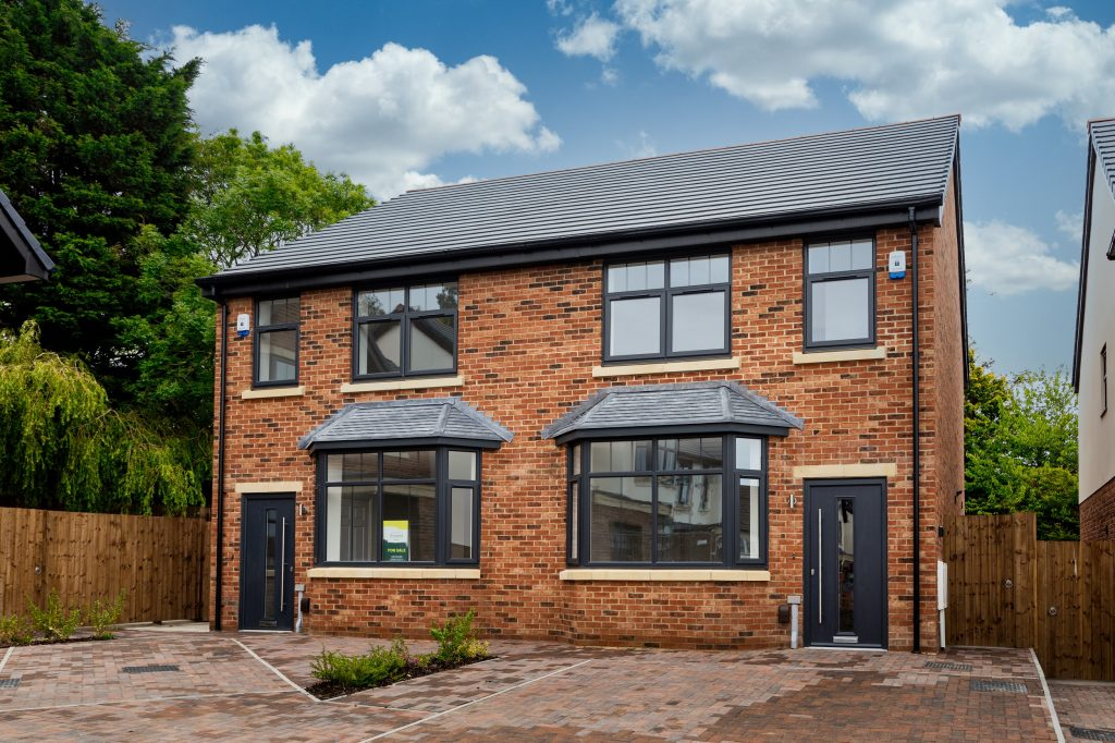 Exterior view of shared ownership home at Glenavon Park, Prenton