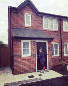 Nat gets keys to her shared ownership home