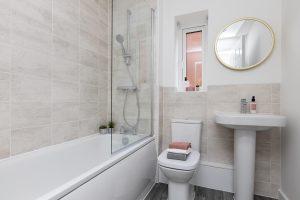 Bathroom at Cedar home at Sycamore Gardens at Cedar home at Sycamore Gardens