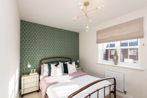 Bedroom at the Hawthorn at Elston Park, Grimsargh