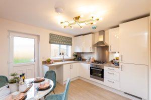 Kitchen in Hawthorn at Elston Park, Grimsargh