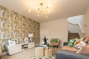 Lounge in Hawthorn at Elston Park, Grimsargh