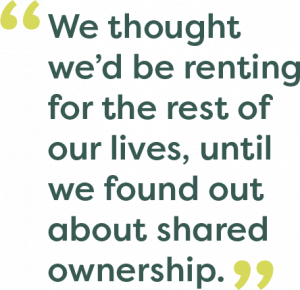 Shared ownership quote