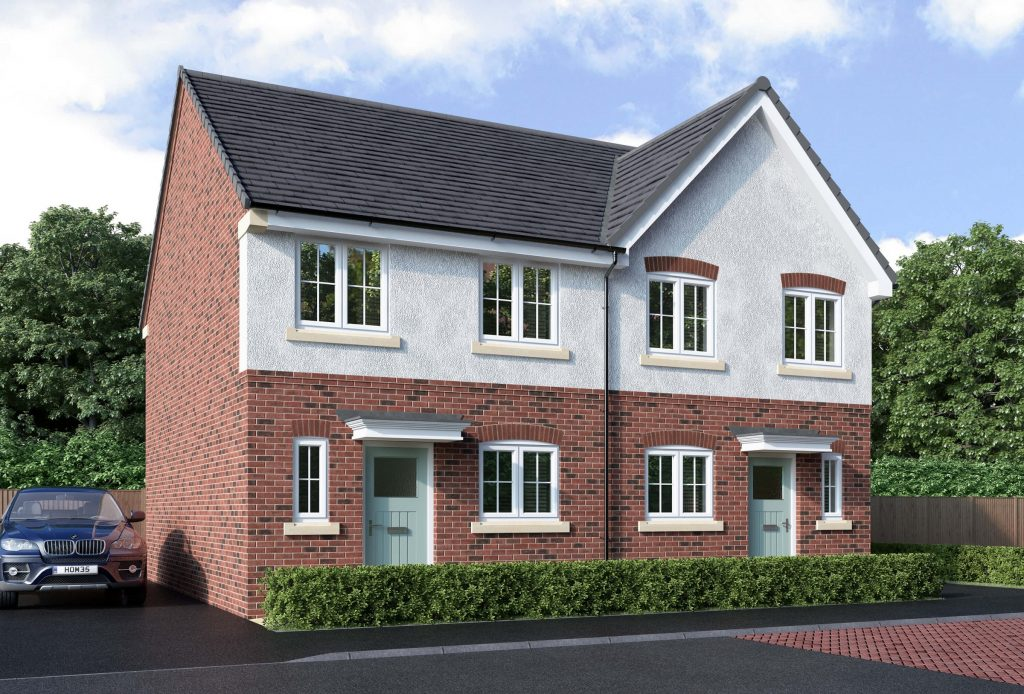 The Wilde 3-bedroom home for shared ownership at Turnstone Grange, Congleton