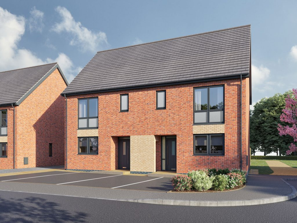 The Formby 3-bedroom home for shared ownership at Sandhills Park, Southport,