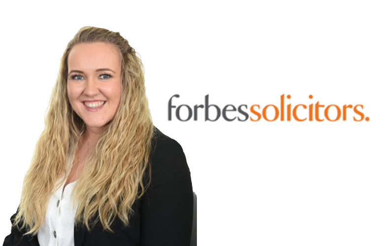 Lauren Fisher from Forbes shared ownership solicitor