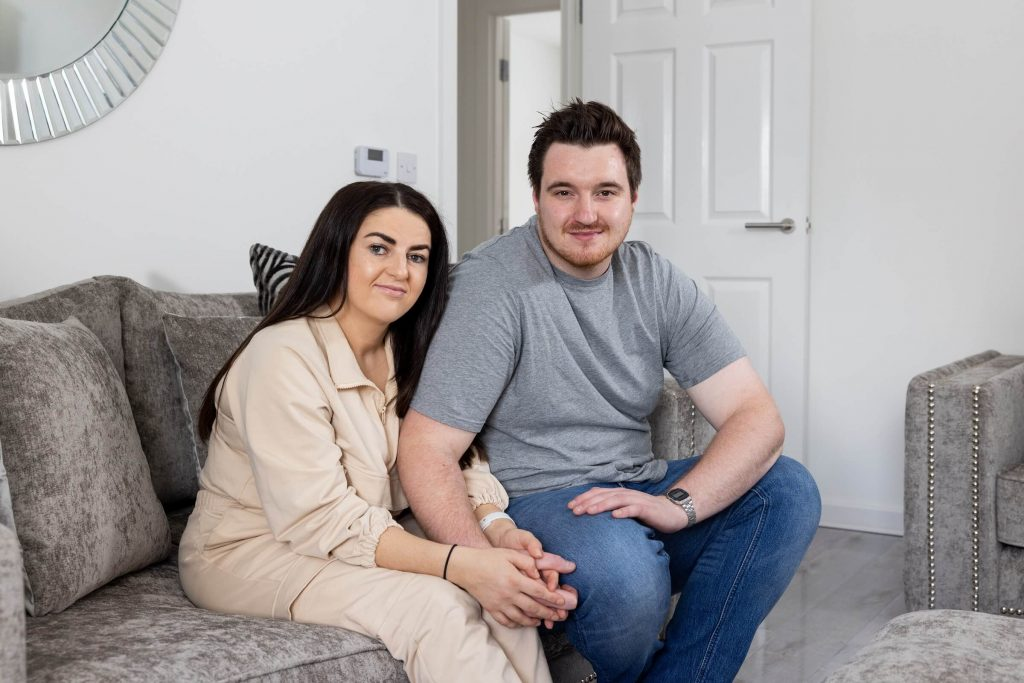 Shared ownership purchasers at Sycamore Gardens