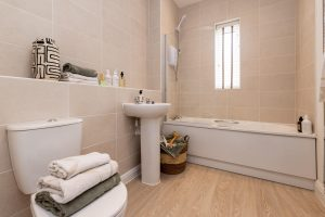 Bathroom in The Birkdale at Sandhills Park, Scarisbrick