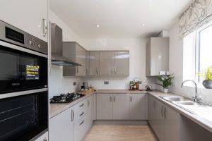 Kitchen in The Birkdale at Sandhills Park, Scarisbrick