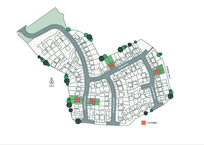Development siteplan - Contact Onward for an accessible alternative
